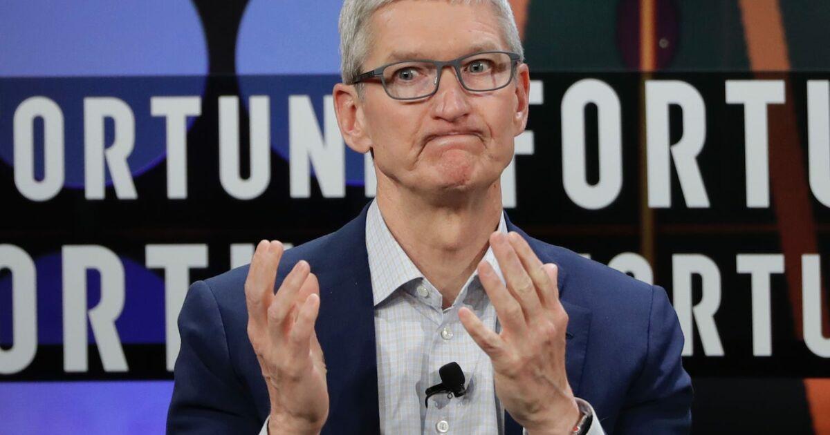 Tim Cook, le DG d'Apple, est maintenant milliardaire