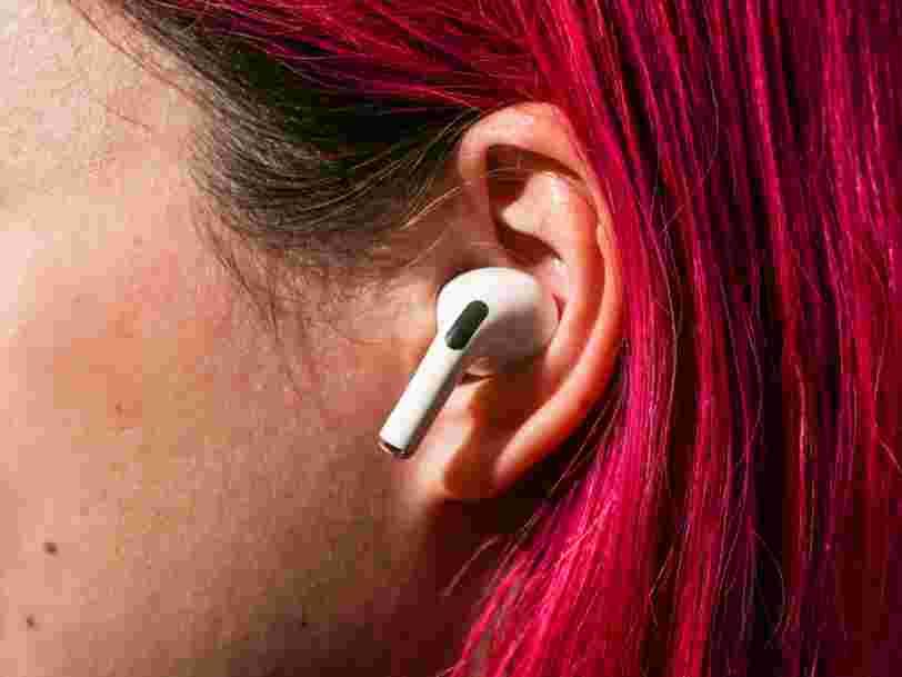 Les futurs AirPods d'Apple pourraient modifier le son en fonction de votre environnement