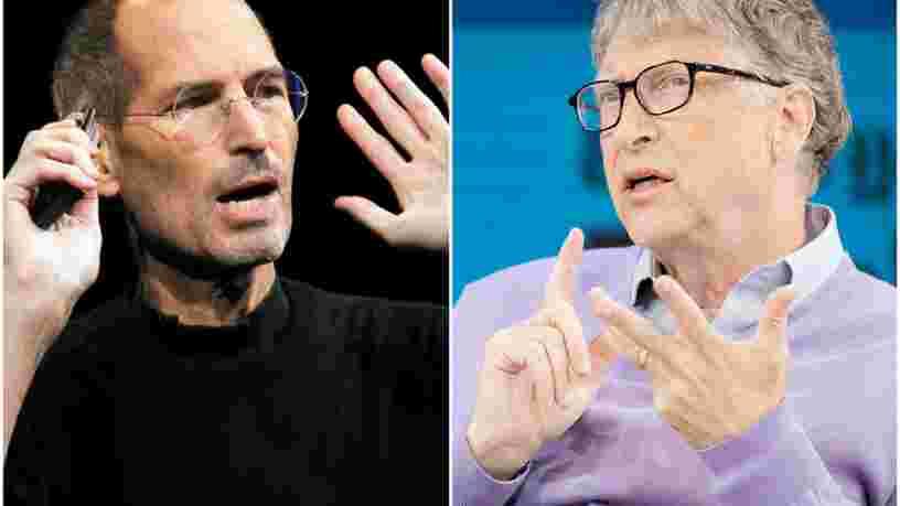 On vous raconte 30 ans d'amour-haine entre Steve Jobs et Bill Gates