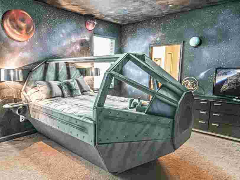 Cet Airbnb sur le thème de 'Star Wars' possède 9 chambres qui vous transporteront dans une galaxie lointaine