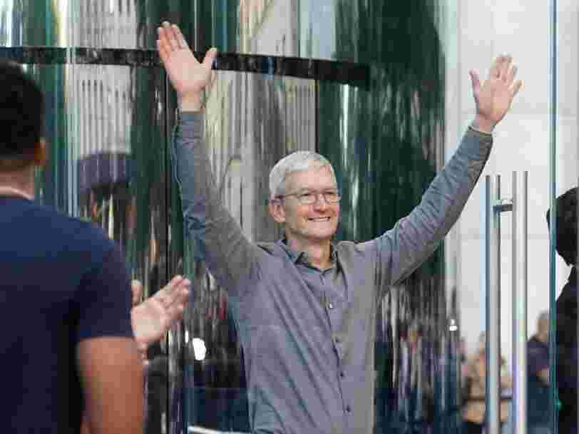 Apple devient la première entreprise américaine à valoir plus de 2 000 Mds$ en Bourse