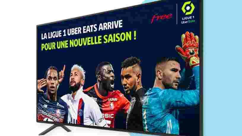 Free lance son offre pour voir tous les buts de Ligue 1 sans surcoût pour la plupart de ses abonnés