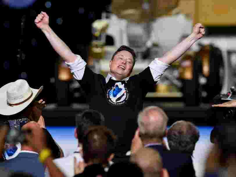 Elon Musk est la personne qui a gagné le plus d'argent pendant la pandémie