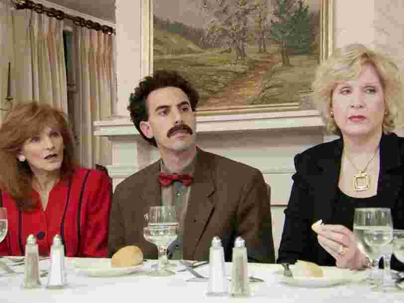 Borat pourrait être de retour à en croire une vidéo montrant Sacha Baron Cohen sous les traits du personnage