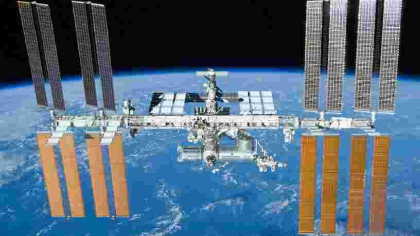 La Station spatiale internationale présente une 'fuite d'air'