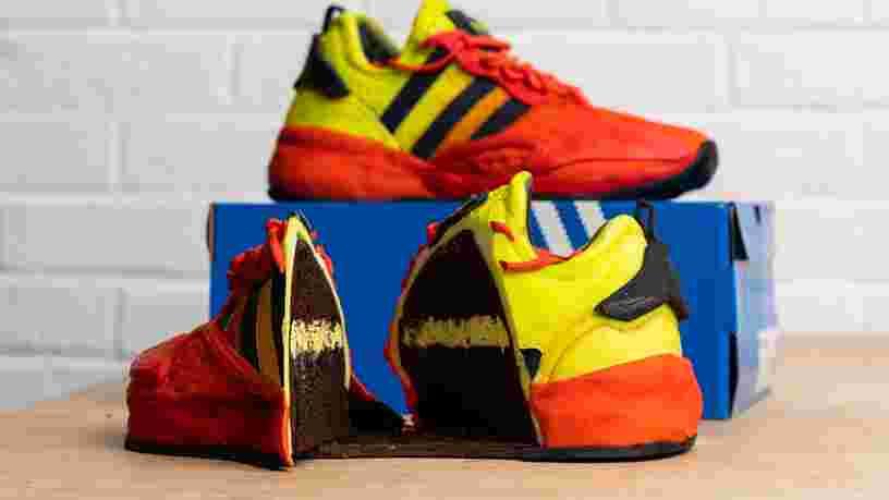 Adidas s'associe à Deliveroo pour faire gagner une paire de basket comestible