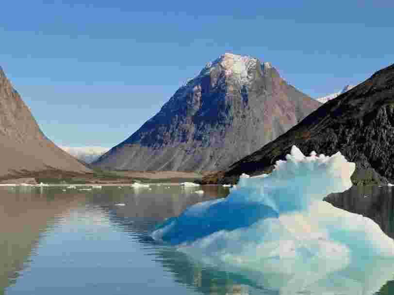 La Terre a perdu 28 000 milliards de tonnes de glace ces 23 dernières années à cause du réchauffement climatique
