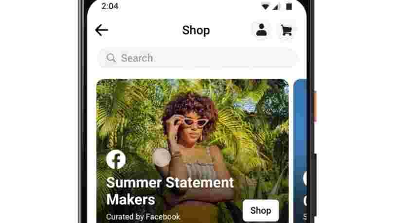 Facebook lance ses boutiques en ligne et intègre les paiements sur Instagram