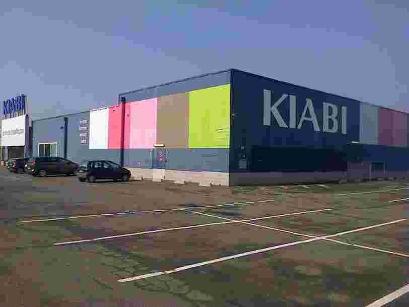 Kiabi teste la vente de vêtements de seconde main en magasin