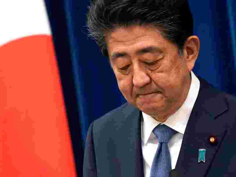Le Premier ministre Shinzo Abe a démissionné pour des raisons de santé