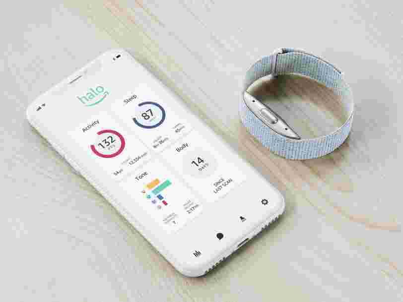 Amazon veut se démarquer dans la santé connectée avec Halo, un bracelet qui mesure vos émotions