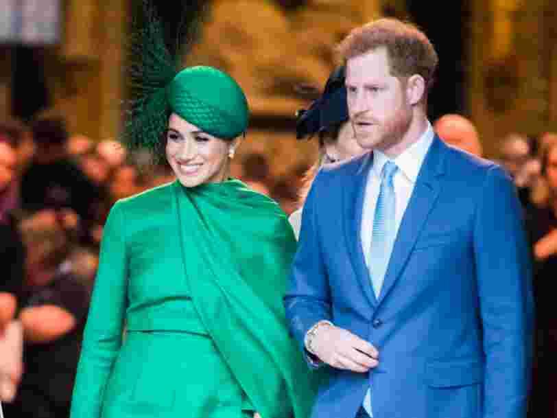 Le Prince Harry et Meghan signent un contrat avec Netflix