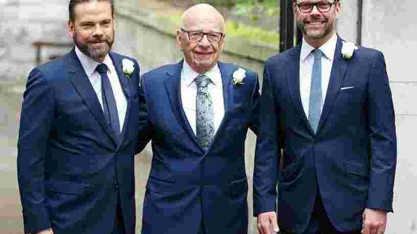 On vous présente la famille Murdoch, à la tête d'un empire de 18 Mds$