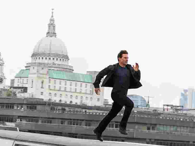 Une vidéo montre la cascade incroyable réalisée par Tom Cruise pour 'Mission Impossible 7'