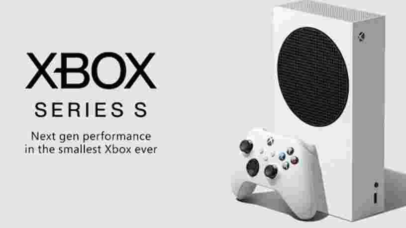 Microsoft officialise le prix et le design de la Xbox Series S, la moins chère de ses consoles next-gen