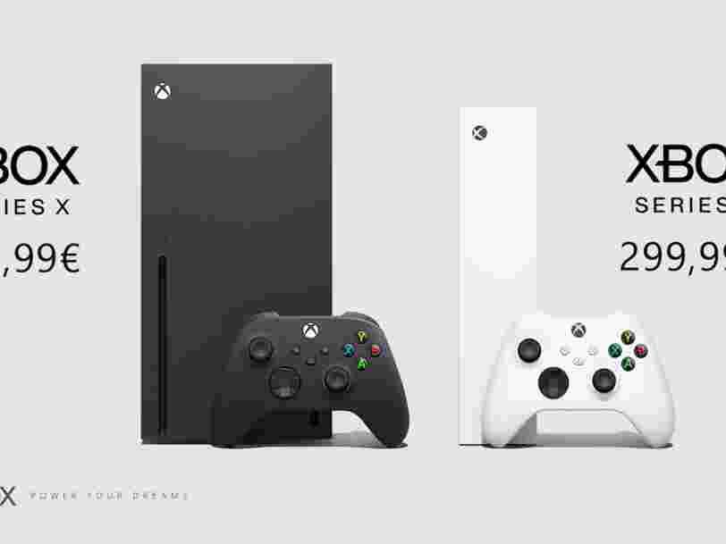 La nouvelle Xbox sera disponible en précommande le 22 septembre