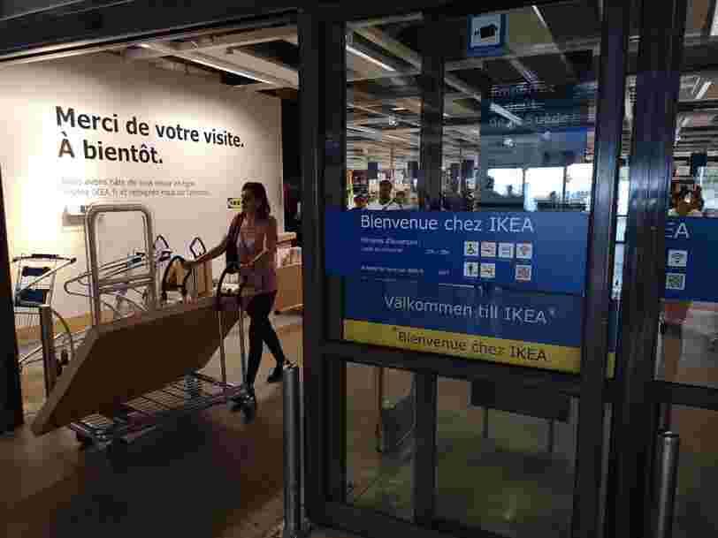 Ikea propose de faire ses achats via son smartphone pour aller plus vite en caisse