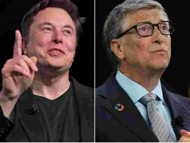 Elon Musk recadre Bill Gates qui doute de la viabilité des camions électriques
