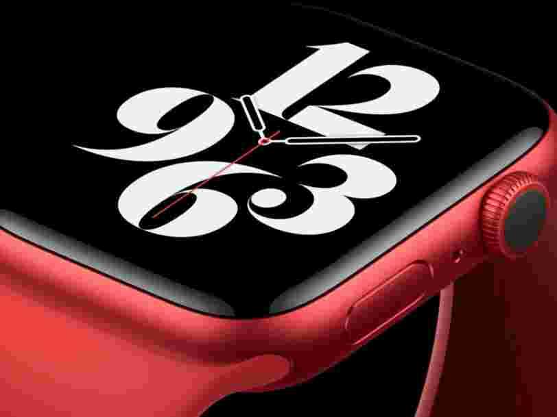 Apple dévoile l'Apple Watch Series 6 et l'Apple Watch SE, un modèle moins cher
