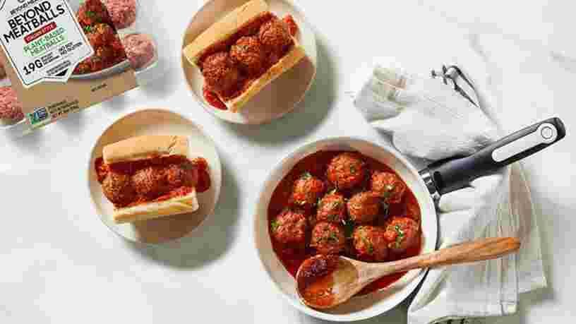 Beyond Meat va vendre des boulettes réalisées avec sa 'viande sans viande' aux États-Unis