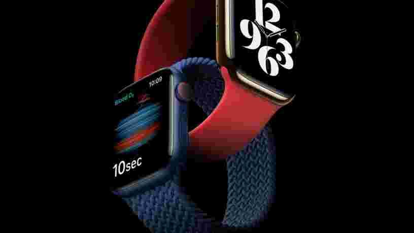 Cette fonction de l'Apple Watch Séries 6 pourrait sauver la vie de ceux atteints de Covid-19