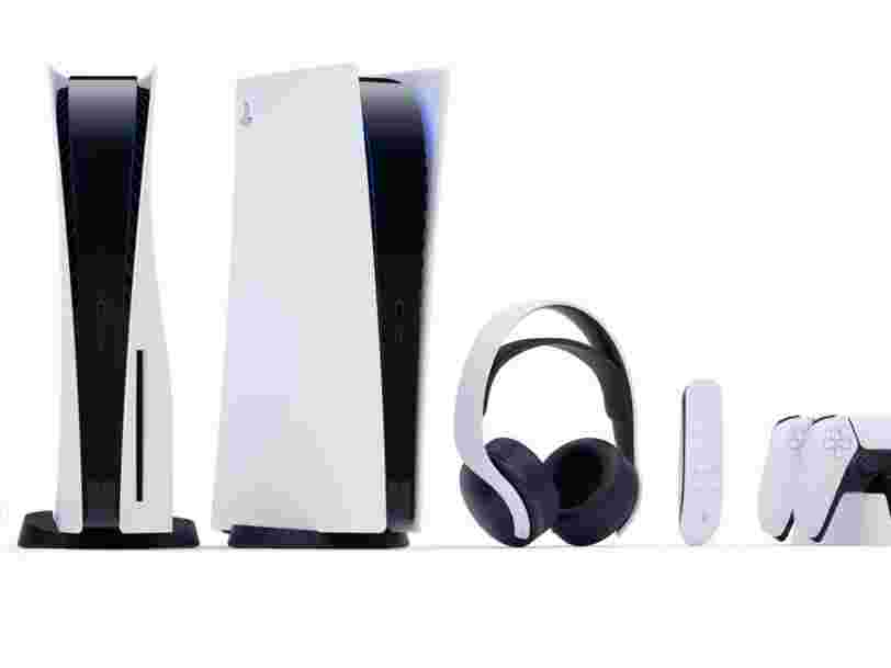 La PS5 de Sony arrive le 19 novembre avec une édition 'digitale' à 399 € et un modèle standard à 499 €