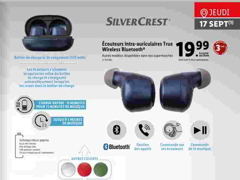 Lidl va proposer des écouteurs sans fil façon AirPods à moins de 20 euros