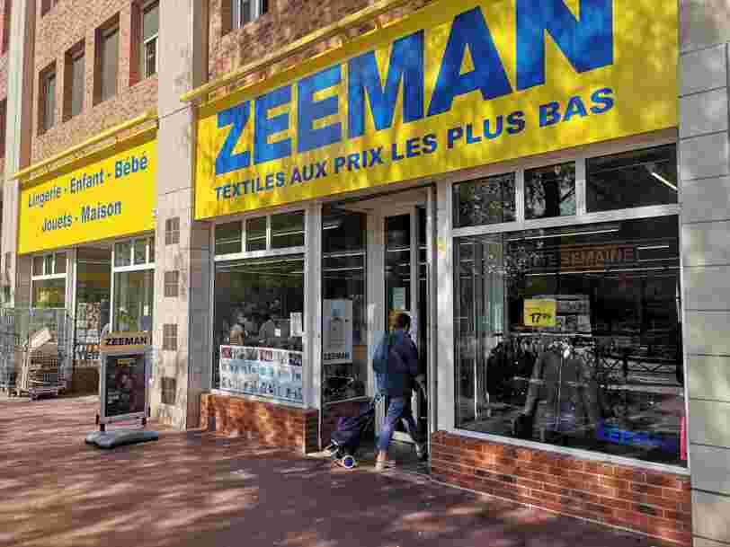 Le discounter Zeeman prévoit une centaine de nouveaux magasins, voici ce que vous pouvez y trouver