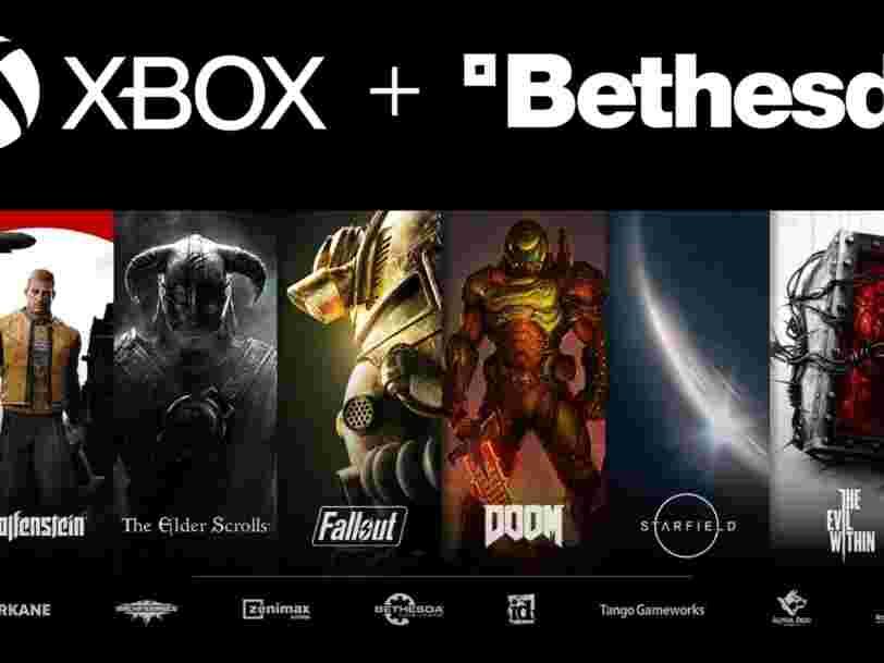 Microsoft rachète Bethesda, un des plus gros deals de l'histoire du jeu vidéo