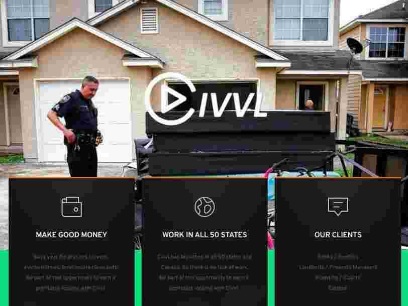 Une startup américaine recrute des indépendants pour expulser les gens de leurs logements