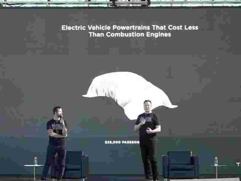 Elon Musk promet une Tesla entièrement autonome à 25 000 $ pour 2023