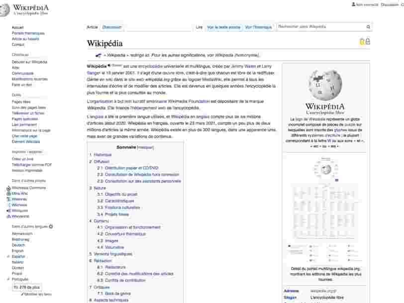 Wikipédia va changer d'apparence pour la première fois depuis 10 ans