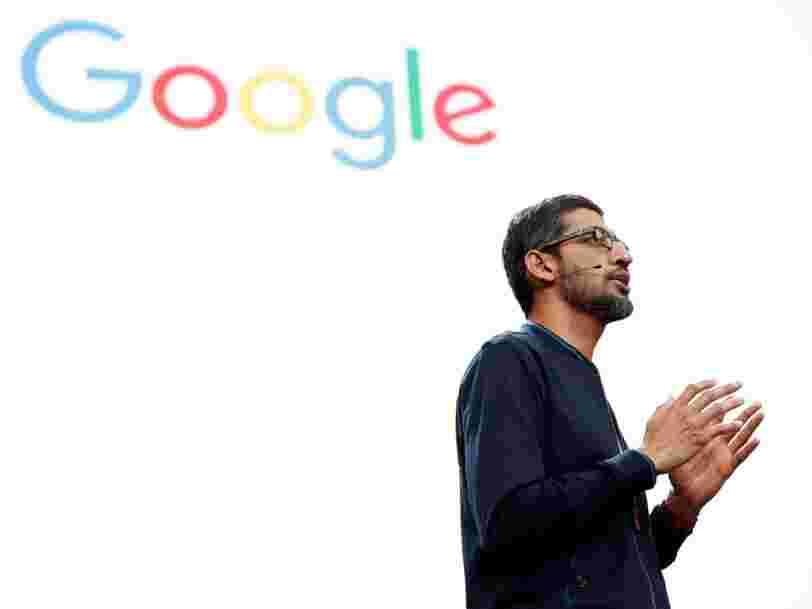 Le DG de Google affirme que l'avenir du travail implique un 'modèle hybride'
