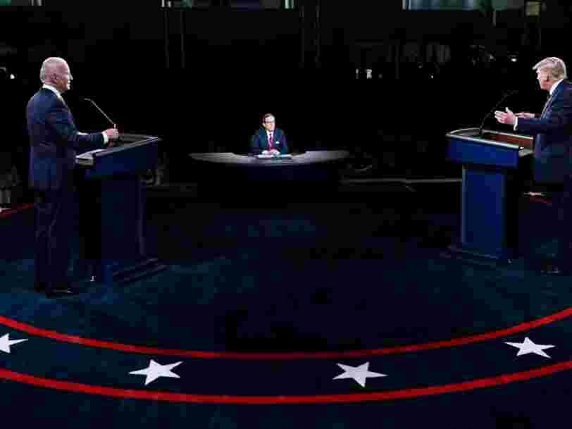 Voici les moments à retenir du premier débat chaotique entre Joe Biden et Donald Trump