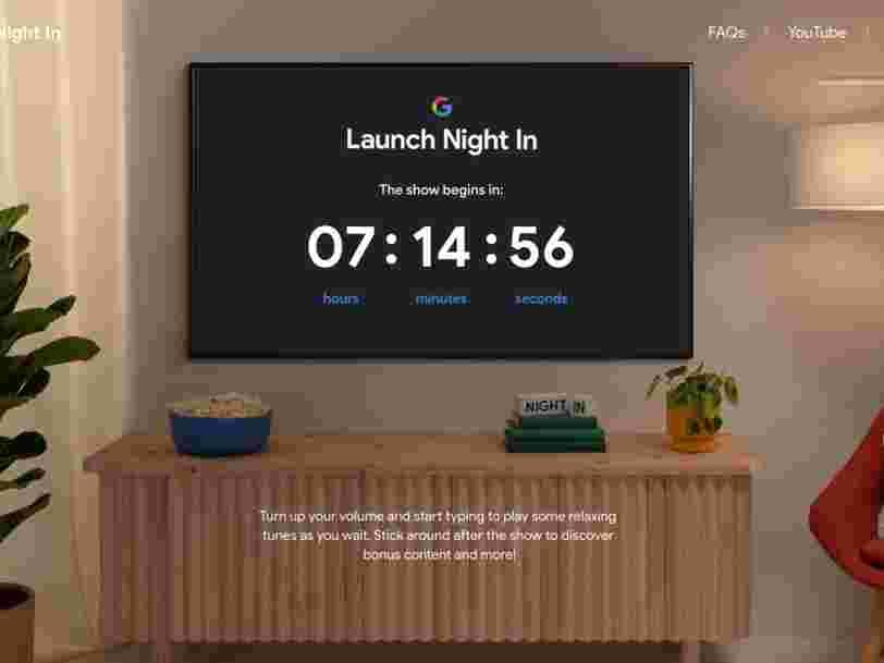 Google Launch Night : voici comment suivre le lancement du Pixel 5 ce mercredi soir