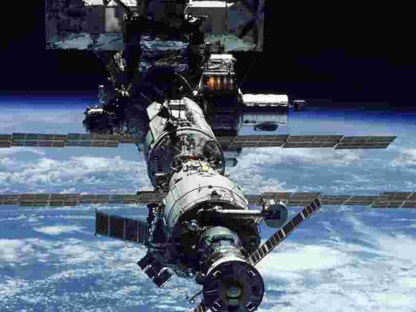 Une fuite d'air découverte à bord de la Station spatiale internationale