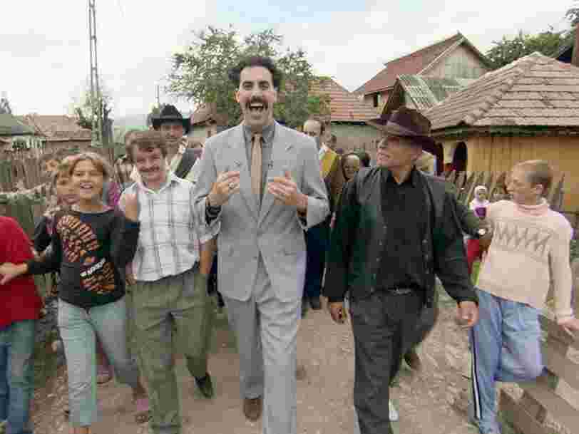 La suite de 'Borat' sortira sur Amazon Prime Video juste avant l'élection américaine