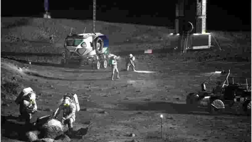 La construction d'une base sur la Lune devra être souterraine pour protéger les astronautes des radiations