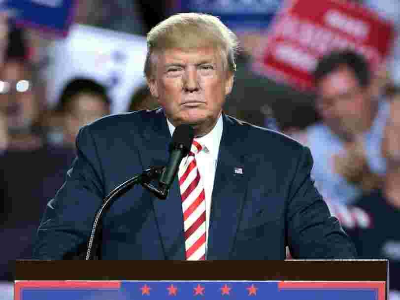 Donald Trump est positif au Covid-19 mais 'va bien'