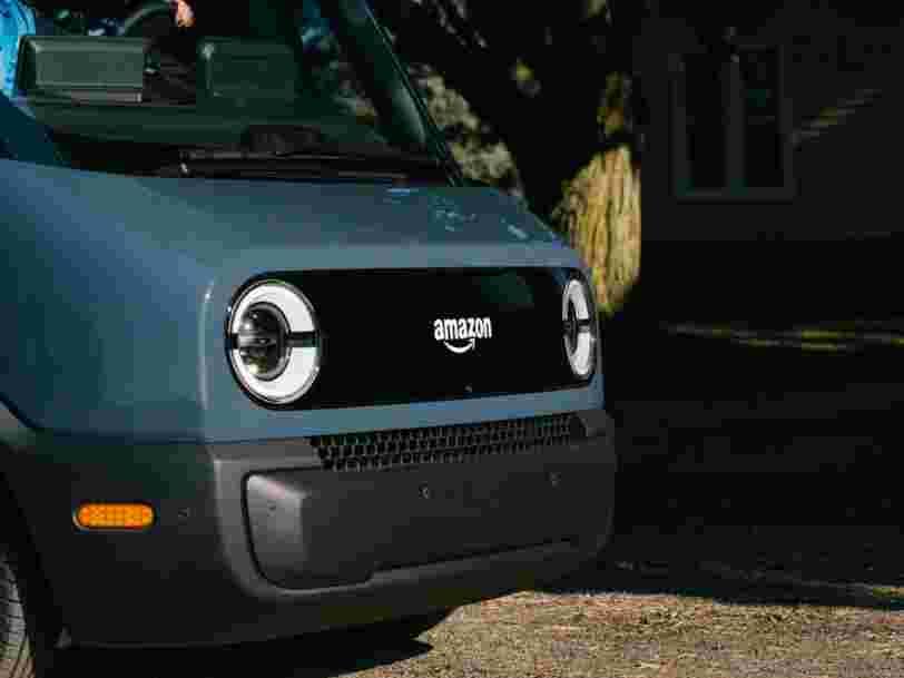 Amazon dévoile son premier véhicule de livraison électrique