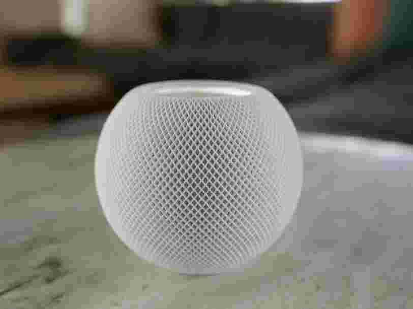 Apple présente le HomePod mini, une enceinte connectée à moins de 100 euros