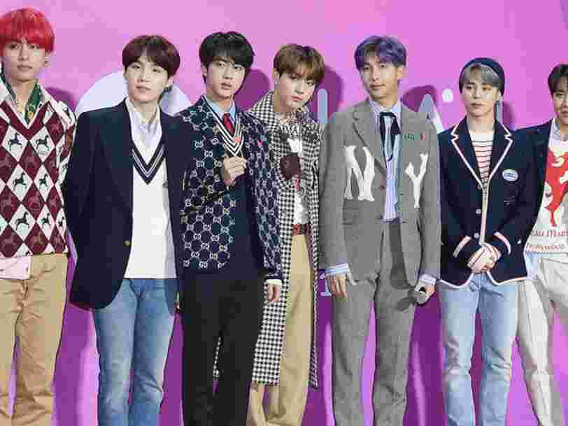 Le label du groupe de K-pop BTS devient un poids lourd de la Bourse coréenne à peine introduit