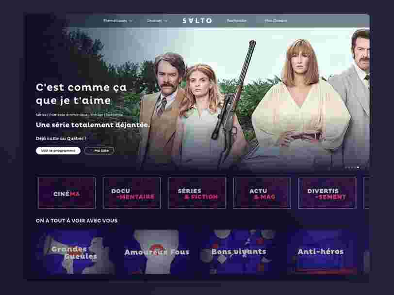 Nos premières impressions sur Salto, le nouveau service de streaming français