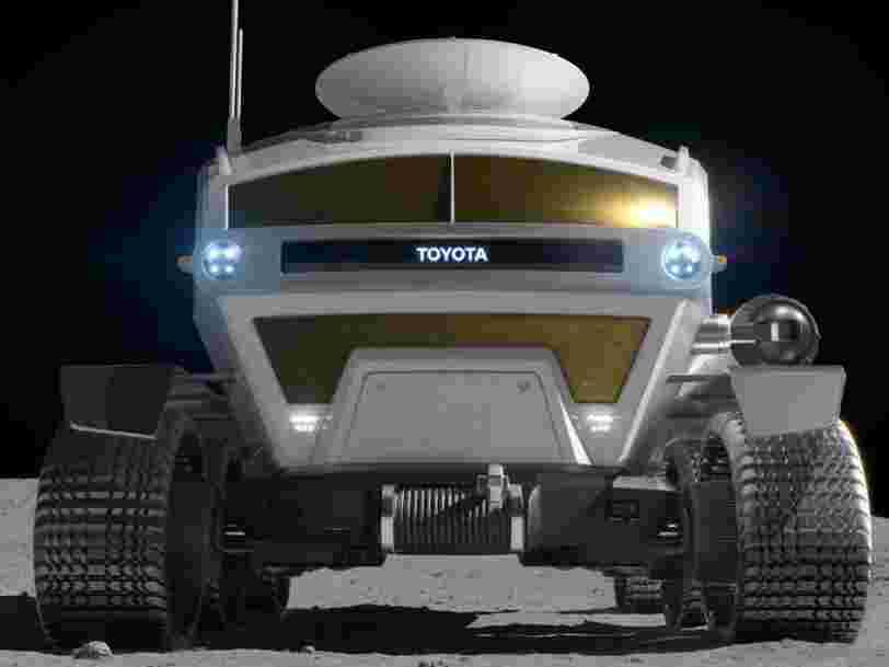 Voici à quoi va ressembler le rover lunaire créé par Toyota pour l'agence spatiale japonaise