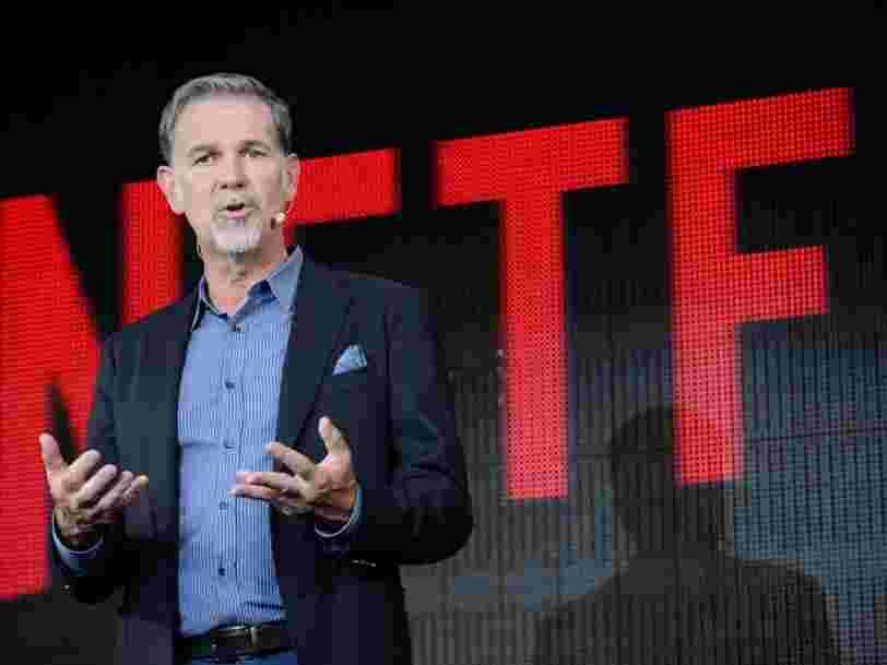 Le patron de Netflix gère son entreprise comme une 'équipe sportive de haut niveau', voici ce que ça implique