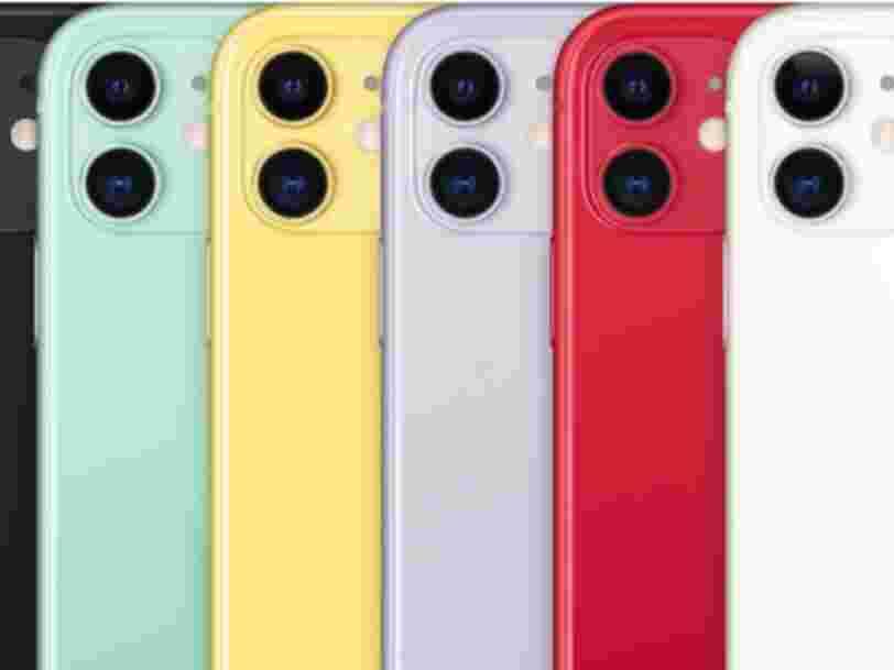 iPhone 11 : le smartphone Apple enfin disponible à prix réduit chez Amazon