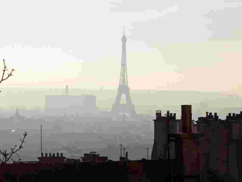 Les 12 villes européennes où la pollution de l'air coûte le plus cher