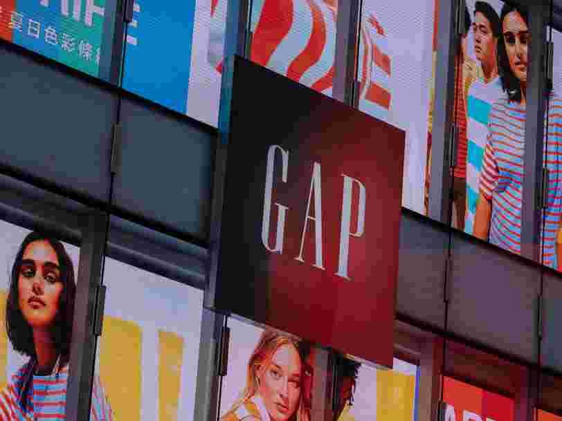 L'enseigne Gap va fermer ses 21 boutiques en France d'ici cet été