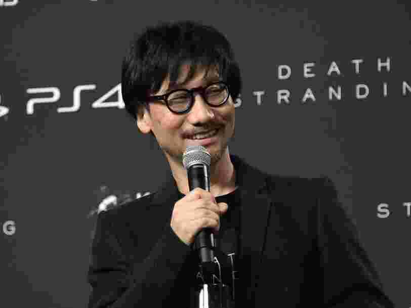 Le créateur de la franchise 'Metal Gear' vient d'annoncer un nouveau jeu