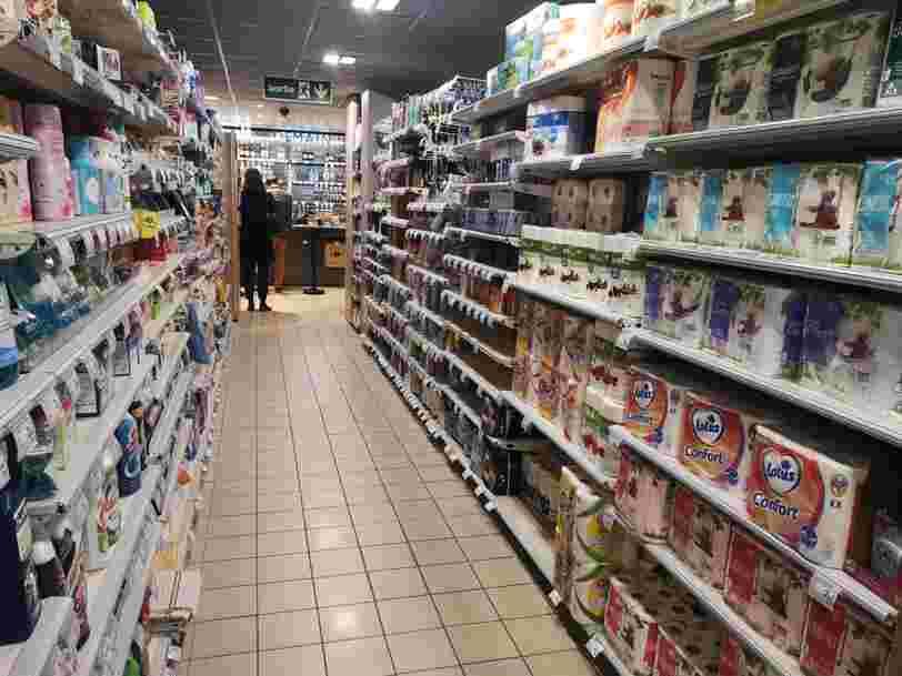 Les supermarchés assurent qu'on ne connaîtra pas de pénurie en cas de reconfinement